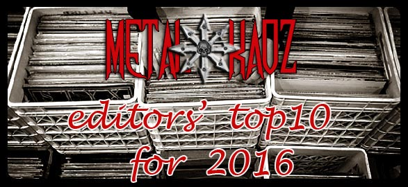 Metal Kaoz Top 10 Albums for 2016