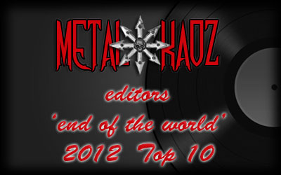 Metal Kaoz Top 10 Albums for 2012